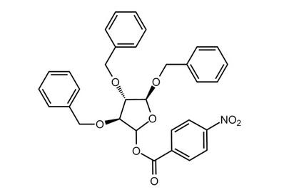 2,3,5-Tri-O-benzyl-D-arabinofuranose 1-(4-nitrobenzoate), ≥98%