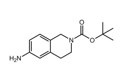 6-Amino-2-N-Boc-1,2,3,4-tetrahydroisoquinoline, ≥98%