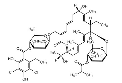 Fidaxomicin, ≥98%
