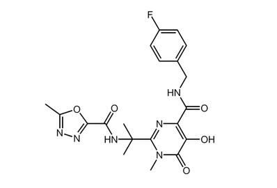 Raltegravir potassium, ≥98%