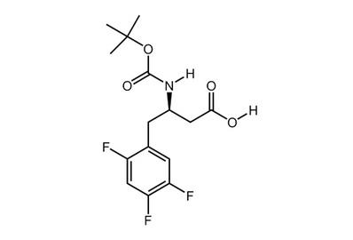 Boc-(R)-3-Amino-4-(2,4,5-trifluorophenyl)butanoic acid, ≥99%