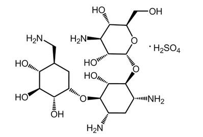 Kanamycin sulfate, ≥750 IU/mg