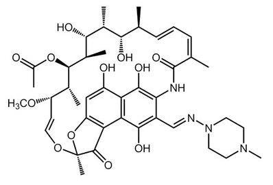 Rifampicin, ≥97%