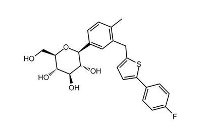 Canagliflozin hemihydrate, ≥99%